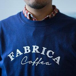 FABRICATシャツカラー:インディゴサイズ:S・MTSUJIMOTOCOFFEESHOPT-shirtスタッフTシャツ