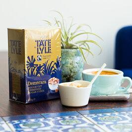 TATE&LYLE(テイト&ライル)デメラーララフカットシュガーキューブ500gフェアトレード商品スペシャルティコーヒーにお勧めの砂糖