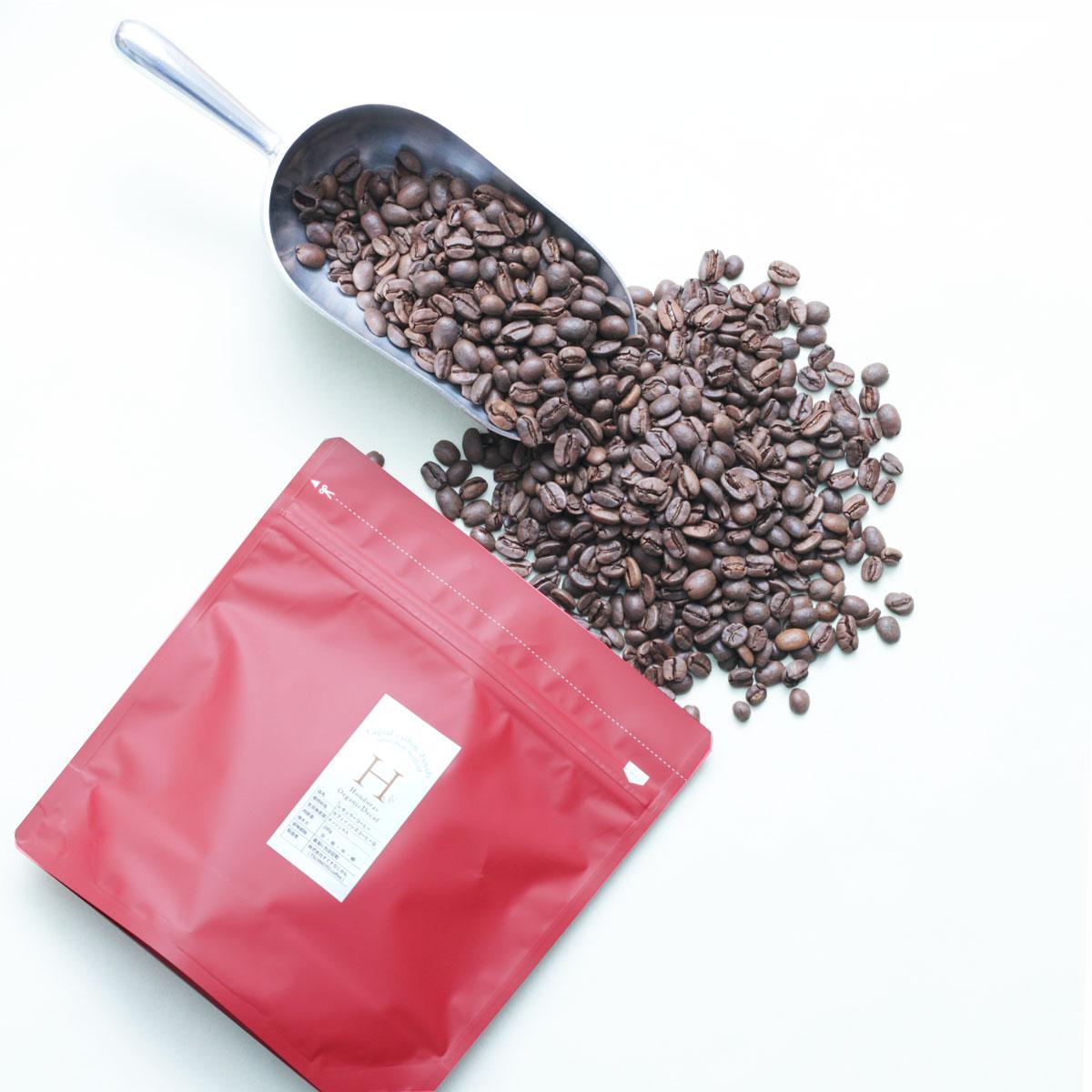 辻本珈琲『デカフェ ホンジュラス 有機コーヒー豆100%使用』