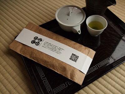 辻利八女白ラベル八女煎茶【メール便80円送付可】
