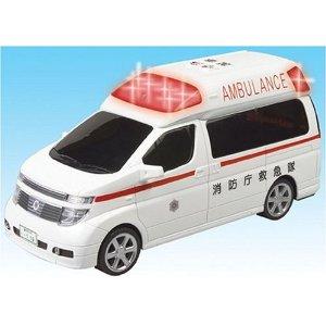 【ライト&サウンド】 NISSAN エルグランド救急車