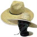 ガーデニング 農作業におすすめの麦わら帽子です。【農作業 帽子 ガーデニング 帽子 UV 日よけ 帽子 メンズ レディース UVカット 紫外線 日焼け つば広 春 夏 首 首ガード 父の日】
