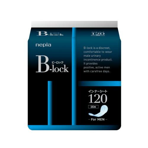 ○お取り寄せ商品 送料無料 ネピア B-lockインナーシート120 16枚 16枚×18個入り 尿漏れ ...