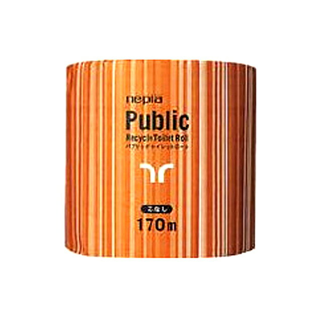 【sss】○お取り寄せ商品 (送料無料) ネピア パブリック 1ロール 170m 芯なし 1ロール ×48コ入×10ケース 業務用品 73604:つかさ