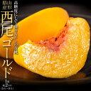 桃 もも モモ 黄桃 かたい桃 山形県産 西尾ゴールド 約2kg (5〜9玉) 秀品 送料無料