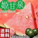 スイカ 新潟県産 すいか 小玉 姫甘泉 (ひめかんせん) 秀品 3玉(1玉あたり約3kg) 送料無料