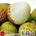 生ライチ『玉荷包(ぎょくかほう)』台湾産 約1kg(40~50個程度)※冷蔵 送料無料