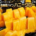 フィリピン産 パイナップル ハニーグロー 2玉 約3.5kg