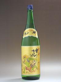 現代の名工「農口杜氏」が醸す魂の酒鹿野酒造 常きげん 純米吟醸 風神 1.8L 【02P02Mar14】