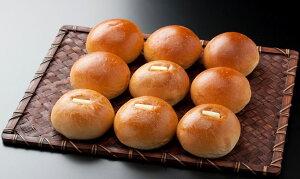 クリームパンと5個とバター入りあんパン4個のちょっぴりお得な9個セットです。九十九堂本舗のお...