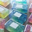 蒼SOAP (ソウ・ソープ)化粧石鹸【3種類からお選びください】ひとつひとつ手作りしたキラキラの石鹸