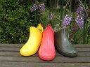 根強い人気・ジュニアサイズ全3色【純国産】雨靴雨具ショート丈ゴム長靴ラバー防水靴シューズ【日本製】【P06May16】