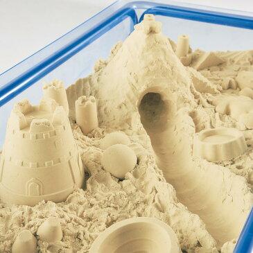 お家の中で砂遊びが出来る不思議な砂 室内砂場遊び・モーションサンド 3kg 送料無料