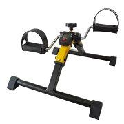 椅子運動エクササイズペダル漕ぐながら運動ロコモ対策家庭用ペダルエクササイザー[PX-one]イエロー