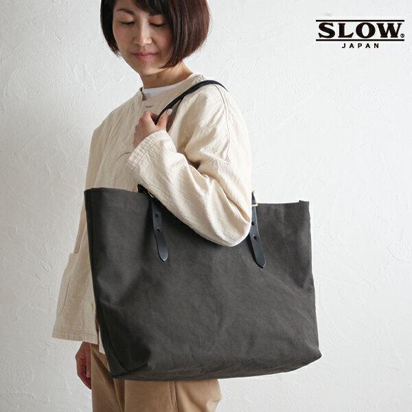 男女兼用バッグ, トートバッグ P10 SLOW L tanni tote bag L 49s215i