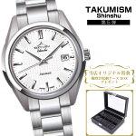 タクミズム信州|TAKUMISMshinshu|文字盤白|日本製|長野県産|機械式時計
