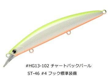 アムズデザインアイマ魚道130MD#HG13-102チャートバックパール/ルアー(O01)(メール便可)