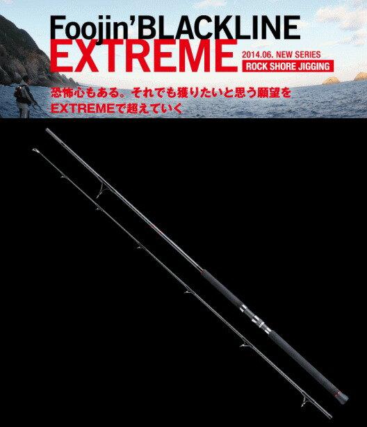 アピア (APIA) 風神 ブラックライン エクストリーム 100H / ルアーロッド (O01) 【セール対象商品】
