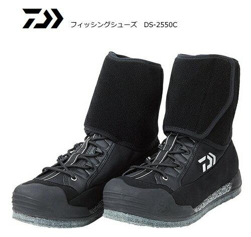 ダイワ フィッシングシューズ DS-2550C ブラック 26.0cm / 渓流 鮎 (送料無料) (O01) (D01)