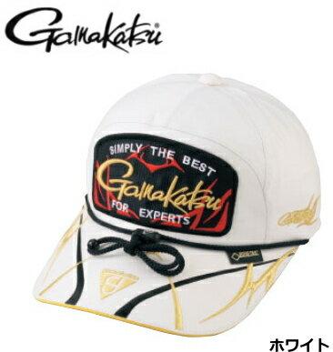 がまかつ ゴアテックス(R) キャップ (ワッペン) GM-9859 ホワイト Mサイズ / 帽子