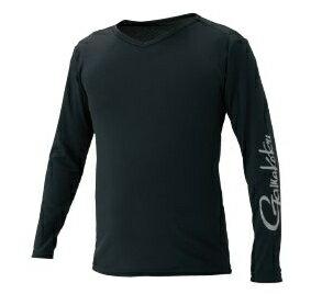 がまかつ NO FLY ZONE(R) ロングスリーブTシャツ GM-3552 ブラック Lサイズ (お取り寄せ商品)