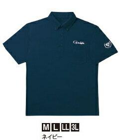がまかつ ポロシャツ (半袖) GM-3515 ネイビー LLサイズ (お取り寄せ商品)