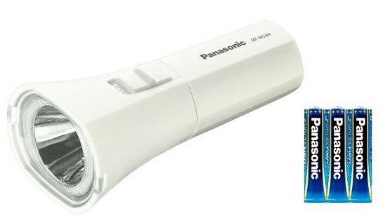パナソニック 乾電池エボルタNEO付きLED懐中電灯 BF-BG44K ホワイト / LED懐中電灯