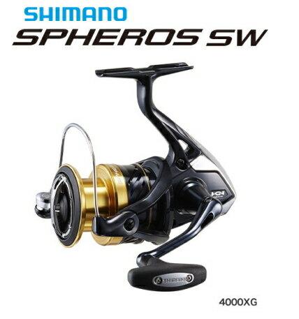 シマノ 19 スフェロス SW 4000XG / スピニングリール / セール対象商品 (11/18(月)12:59まで)