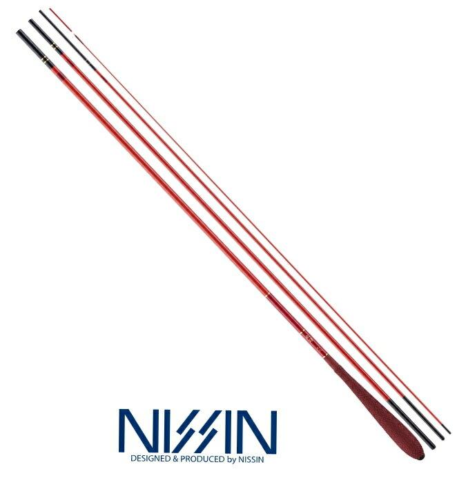 宇崎日新 朱刀 (しゅとう) 14尺 4.20m / ヘラ竿 (お取り寄せ商品)