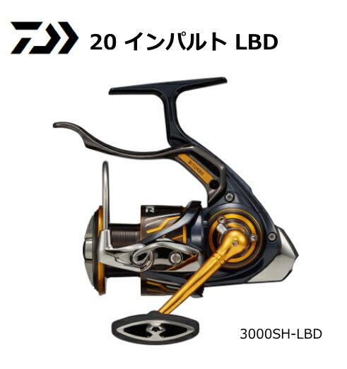 ダイワ 20 インパルト 3000SH-LBD / レバーブレーキ付リール 【送料無料】