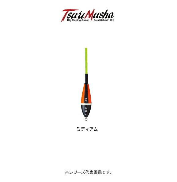 釣武者 鬼馬棒(きばぼう) ミディアム 0 イエロー/オレンジ / 棒ウキ (O01)