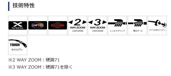 シマノ『天平ZA硬調61』