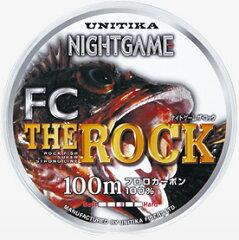【ゲームフィッシュ専用フロロライン】ユニチカ ナイトゲームロックFC 100m