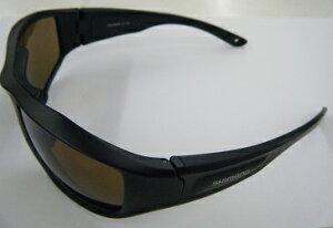 【シマノ】HG-064P ローティングフィッシンググラス マットブラック ブラウン