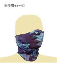 【ゆうパケット対応可】【パズデザイン】PAC-245フェイスガードブラウンカモ