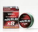 【モーリス】[VARIVAS]アバニ ジギング10×10 マックスパワーPE X8 200m 2号