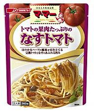ママー パスタソース トマトの果肉たっぷりの なすトマト (2人前・260g) ツルハドラッグ ※軽減税率対象商品