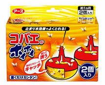 【特売セール】 アース製薬 コバエがホイホイ (2個入り)