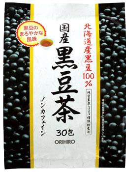 オリヒロ 国産 黒豆茶 ノンカフェイン (30包) 北海道産黒豆100% ツルハドラッグ ※軽減税率対象商品