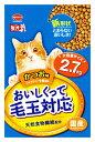 日本ペットフード mio ミオ おいしくって毛玉対応 かつお味 (2.7kg) 国産 キャットフード ツルハドラッグ