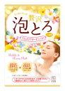 牛乳石鹸 お湯物語 贅沢泡とろ 入浴料 プルメリアガーデンの香り (30g) 入浴剤 ツルハドラッグ