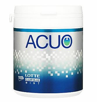 ロッテ ACUO アクオ クリアブルーミント ファミリーボトル (140g) チューイングガム ツルハドラッグ ※軽減税率対象商品
