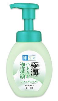 ロート製薬 肌ラボ ハダラボ 極潤 ゴクジュン ハトムギ泡洗顔 本体 (160mL) 洗顔フォーム ツルハドラッグ