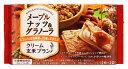 ツルハドラッグで買える「アサヒ バランスアップ クリーム玄米ブラン メープルナッツ&グラノーラ (2枚×2袋 栄養機能食品 ツルハドラッグ」の画像です。価格は127円になります。