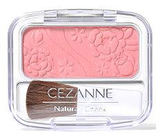セザンヌ化粧品ナチュラルチークN01ピーチ系ピンク(4g)パウダーチーク
