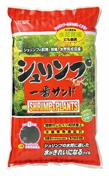 ジェックス シュリンプ一番 サンド (8kg) エビ 底砂