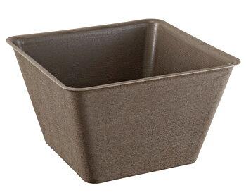 スドー スターペット メダカの角小鉢 ひわだ S-5596 (1個) アクアリウム用品 メダカ用 飼育容器 鉢
