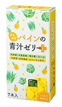 ぷちぷちパインの青汁ゼリー プラス (15g×7本) スティックゼリー