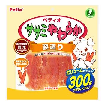 ペティオ ササミやわらか 姿造り (300g) 犬用おやつ ドッグフード