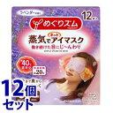 《セット販売》 花王 めぐりズム 蒸気でホットアイマスク ラベンダーの香り (12枚入)×12個セット 1